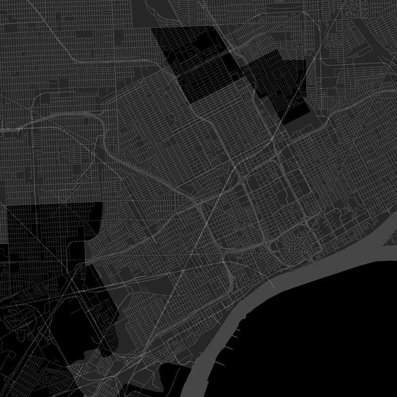 Mapping Detroit's Digital Divide